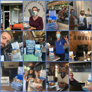 Toronto Businesses supporting Smiling Blue Skies through Mask Sales