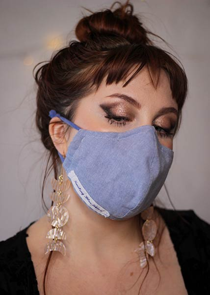 beautiful 4 layer handmade masks