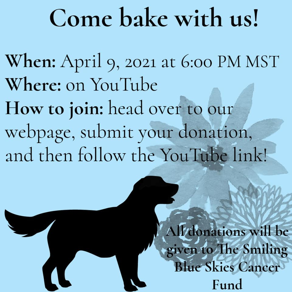 Come bake dog treats with us!